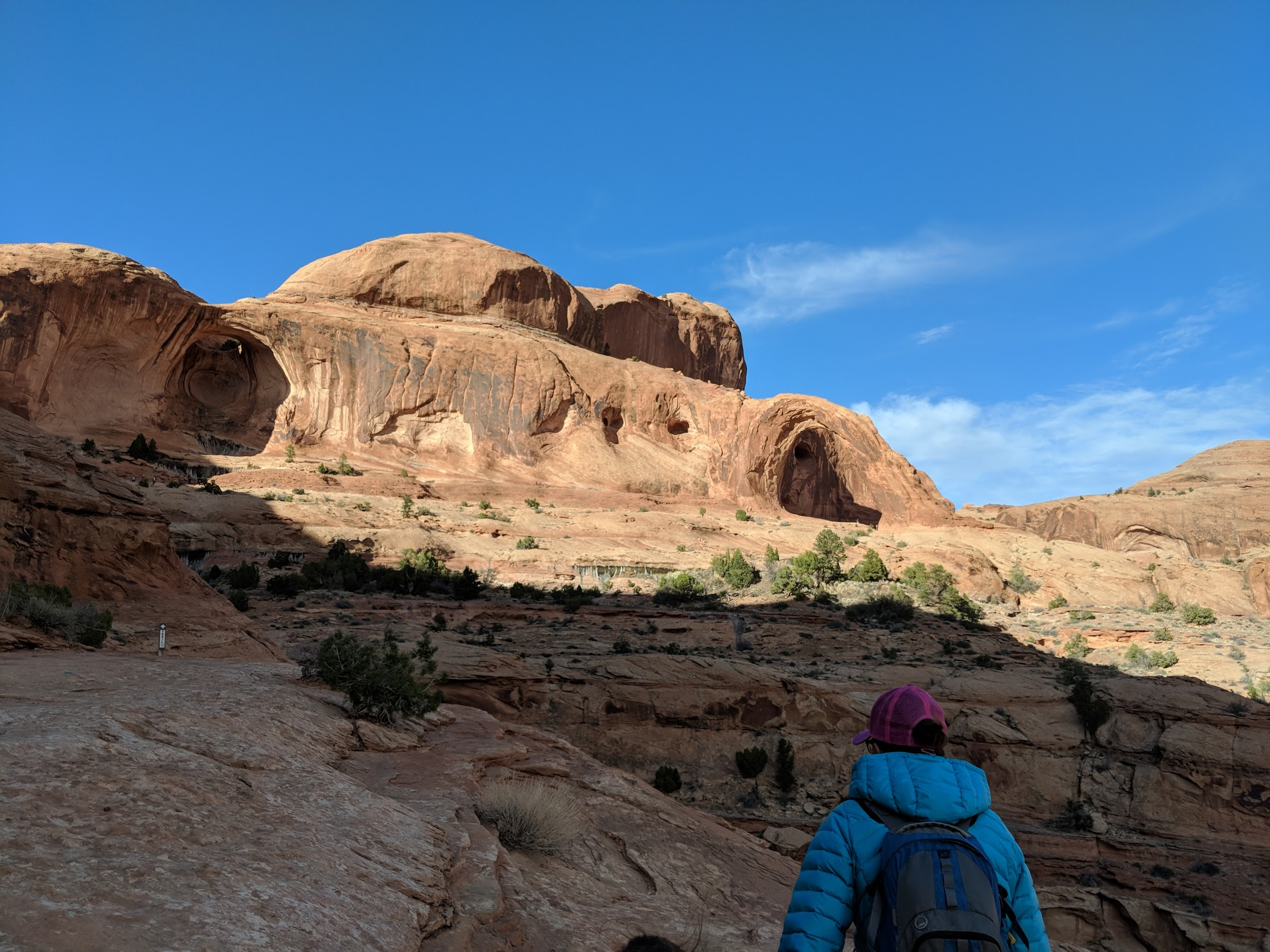 hike to arch