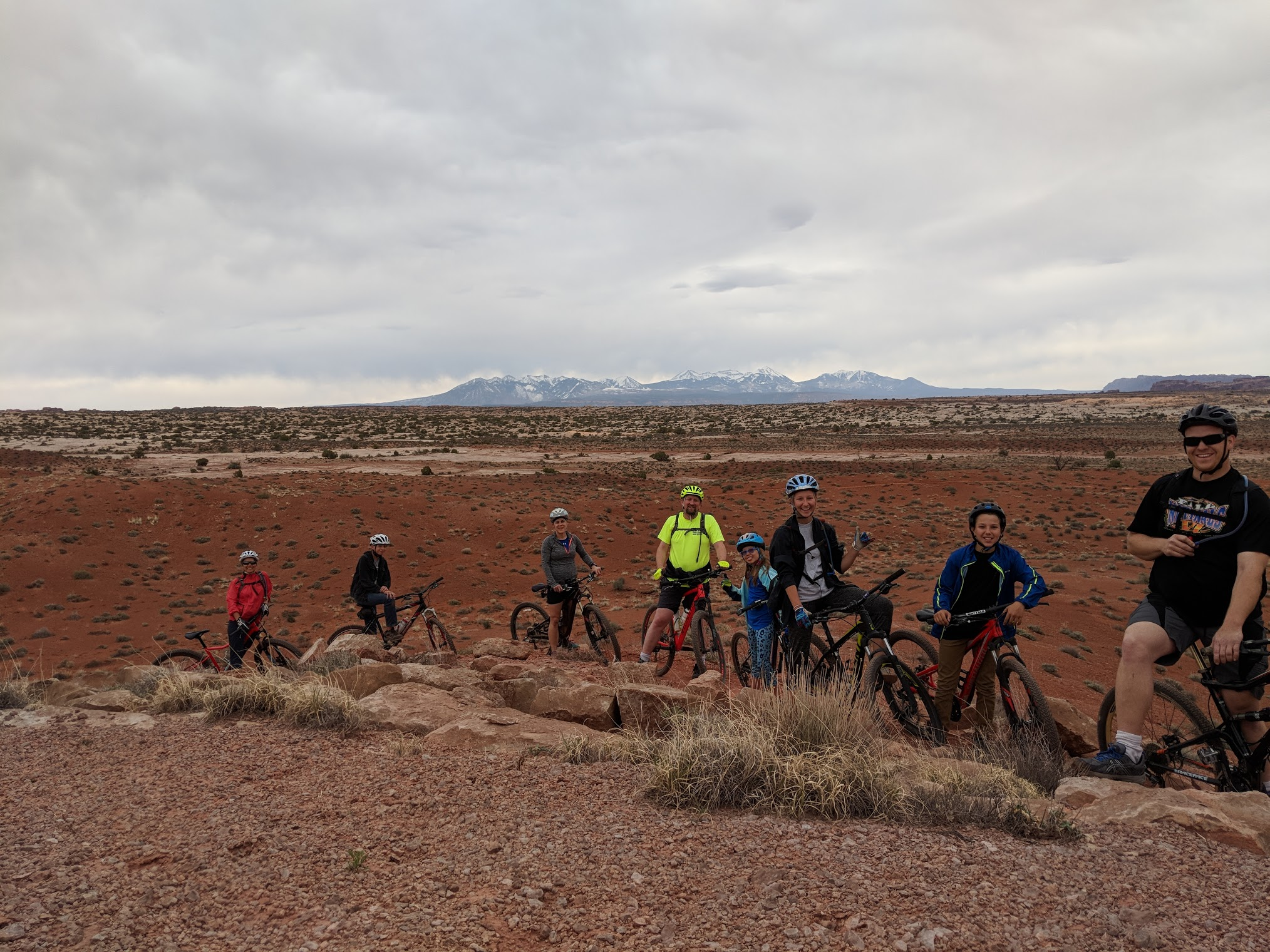 mtn biking with friends 2